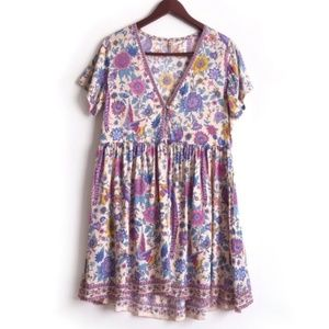 Spell & The Gypsy Collective Lovebird Mini Dress M
